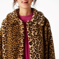 Monki | Jackets & coats | Faux fur coat