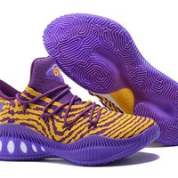 Adidas Crazy Explosive Low Purple/gold