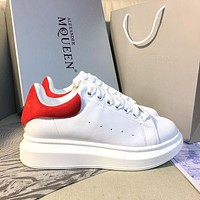 Alexander McQueen Classic white shoes-7