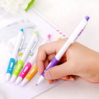 Cute Kawaii Candy Color Ballpoint Pen Watercolor Ball Point Pens for Writing Stationery School Office Supplies Free shipping 427