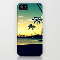 Summer iPhone Case by Samantha Ranlet | Society6