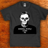 American Horror story - Normal people scare me -adult t-shirt