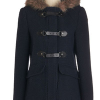 ModCloth Military Mid-length Long Sleeve Truth Be Cold Coat