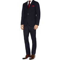 Brunello Cucinelli Classic Suit with Contrasting Lining Blue | Harrods