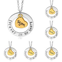 New Arrival Shiny Stylish Gift Jewelry Fashion Accessory Couple Necklace (With Thanksgivin&Christmas Gift Box)[7831860743]