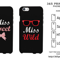 Miss Bow Sunglass Best Friend Matching Phone Cases - 365 Printing Inc