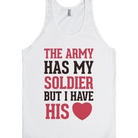 The Military May Have My Soldier, But I Have His Heart (Tank)-Tank