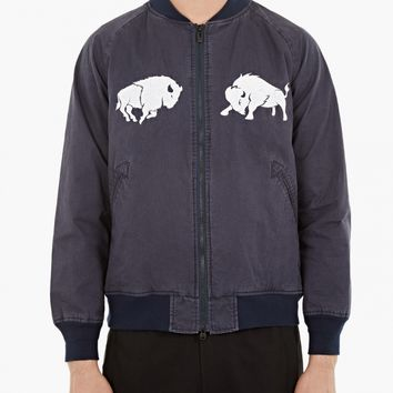 Blue Buffalo Cotton Bomber Jacket - OkiniUK
