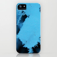 Winter close up and blue  iPhone & iPod Case by Lauren Lee Designs