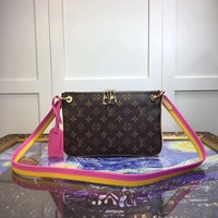 Louis Vuitton Lv Lorette Monogram Canvas Shoulder Bag #9931 - Best Deal Online