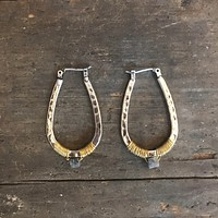 Twisted Horseshoe Earrings