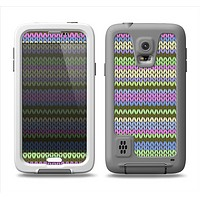 The Colorful Knit Pattern Samsung Galaxy S5 LifeProof Fre Case Skin Set