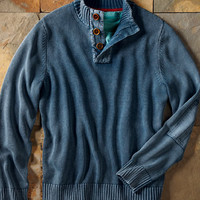 Four-Seasoned Sweater-Carbon 2 Cobalt