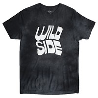 Wild Side black cloud wash T-shirt by Altru Apparel