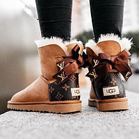 UGG Bow Boots Shoes Adult Child