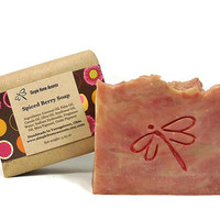 Spiced Berry Soap, Handmade Soap, Vegan Soap, Gift under 10