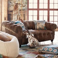 Junk Gypsy Saddle Chesterfield Loveseat