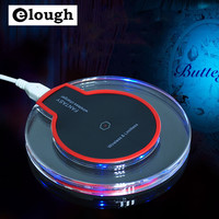 Elough Qi Wireless Charger Pad for Samsung Galaxy S7 S6 edge Note 5 Nokia Nexus 4 5 6 7 Qi Mobile Phone Charger Charging Adapter