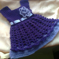 Infant Dress, Baby Girl Clothes, Coming Home Outfit, Take Home Outfit, New Baby Gift, Infant Girl Outfits, Purple baby dress, lavender dress