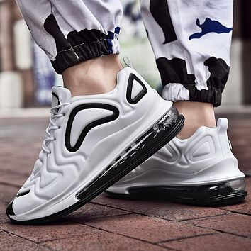 Running Shoes For Men Air Cushion Sneakers Mesh Breathable Women Fitness Trainers Sports Walking Shoes Man