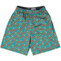Tribe DR Congo Party Flags Lacrosse Shorts