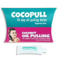 COCOPULL - Coconut Oil Pulling Packets For Whiter Teeth and a Healthy Smile