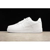Nike Air Force One 1 Low All White AF1 Shoes