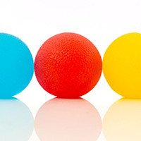 Squishy Stress Relief Balls (3-pack) - Tear-Resistant, Non-toxic, BPA/Phthalate/Latex-Free (Colors as Shown)