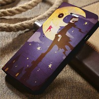 Death The Kid Soul Eater Custom Wallet iPhone 4/4s 5 5s 5c 6 6plus 7 and Samsung Galaxy s3 s4 s5 s6 s7 case