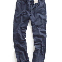 Navy Selvedge Officer Pant