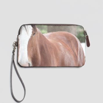 Murray Leather Clutch