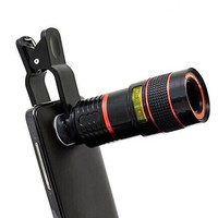 Cool Smartphone Telephoto PRO Clear Image Camera Lens - Zooms 8X Closer
