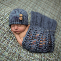 Newborn Baby Girls Boys Crochet Knit Costume Photo Photography Prop = 4457474500