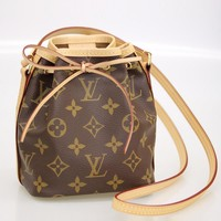 Louis Vuitton LV NanoNoe Shoulder Bag Bucket bag