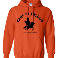 FREE SHIPPING (All Over US) -Hooded Sweatshirt - Camp Half  Blood - Long Island Sound Greek Gods - Hoodie - Sweatshirt