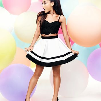 Ariana Grande For Lipsy Lace Bralet Top
