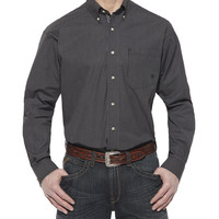 Ariat Men's Bradley Performance Black Western Shirt
