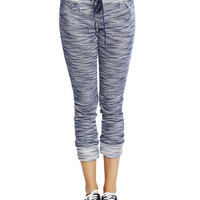 Cuffed Jogger Pants   Wet Seal