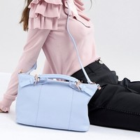 Ted Baker Bridle Handle Small Tote in Leather at asos.com