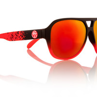 Supercat Sunglasses: Fader - Nova Red