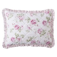 Simply Shabby Chic® Garden Rose Quilted Sham - Standard