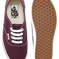 Vans Authentic Fig Lace Up Trainers at asos.com