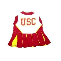 USC Trojans Cheerleader Dog Dress