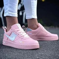 NIKE air force 1 Fashion low-top shoes casual sneakers available for men and women-4