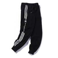Champion Fashion Men Casual Embroidery Sport Stretch Pants Trousers Sweatpants
