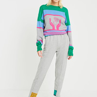 MIMICAWE Seamed Colour-Block Sweatpants | Urban Outfitters