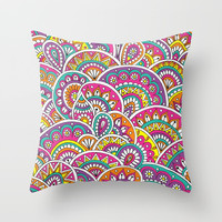 Exuberance Throw Pillow by Sarah Oelerich