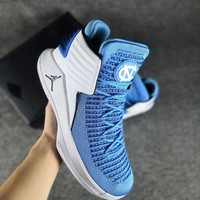 Men's NIKE AIR JORDAN 32 LOW Medium basketball shoes 001