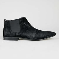 Ray Black Suede Chelsea Boots - Topman