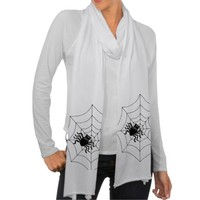 Spiders Scarf Wrap